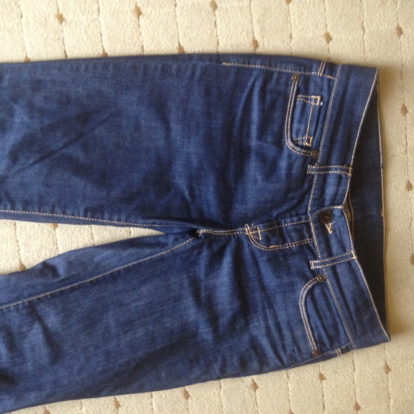spodnie jeans dzwony...