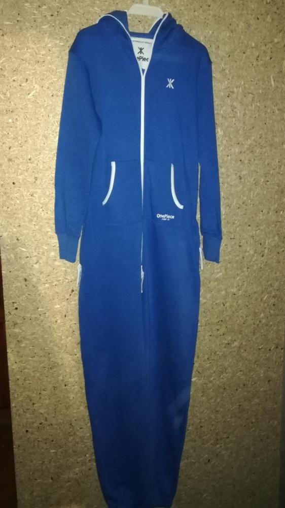 Onepiece Onesie kigurumi niebieski dres M