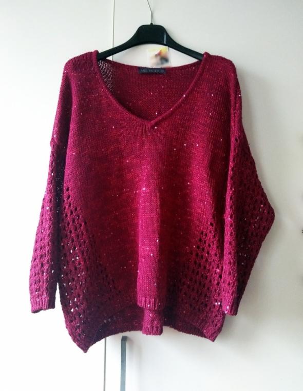 sweter z cekinami