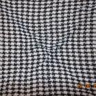 chustka afganka biało czarna gruba