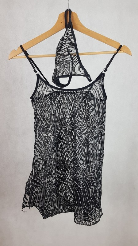 Seksowny komplet koszulka i stringi