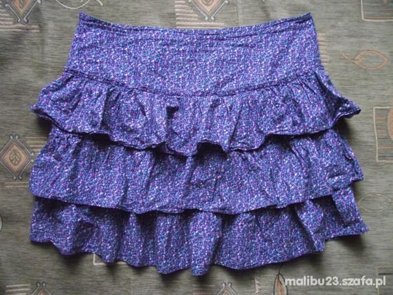 Spódnice floral falbany