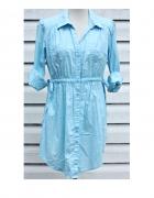 Niebieska sukienka Anne L...