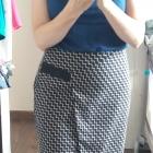 Bardzo elegancka asymetryczna spódniczka
