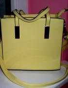 Żółta mała torebka f&f...