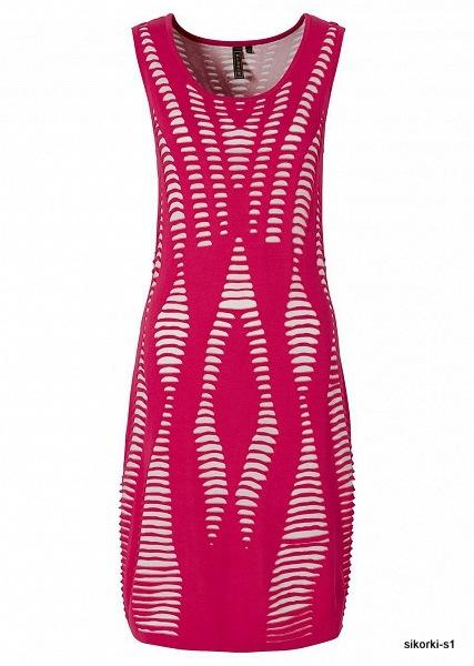Świetna sukienka dzianinowa 42 LUB 38
