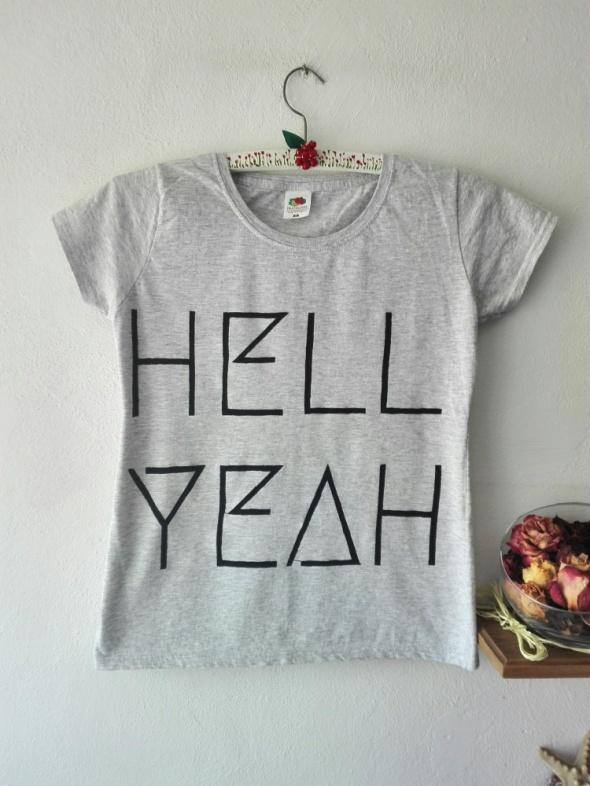 Koszulka Hell Yeah Handmade