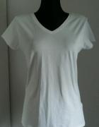 Nowa biała bluzka Amisu SMLXL serek...