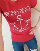 Tshirt z nadrukiem marynarski...