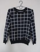 Sweter w kratę...
