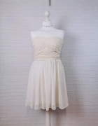 12 40 L ASOS Piękna kremowa sukienka...