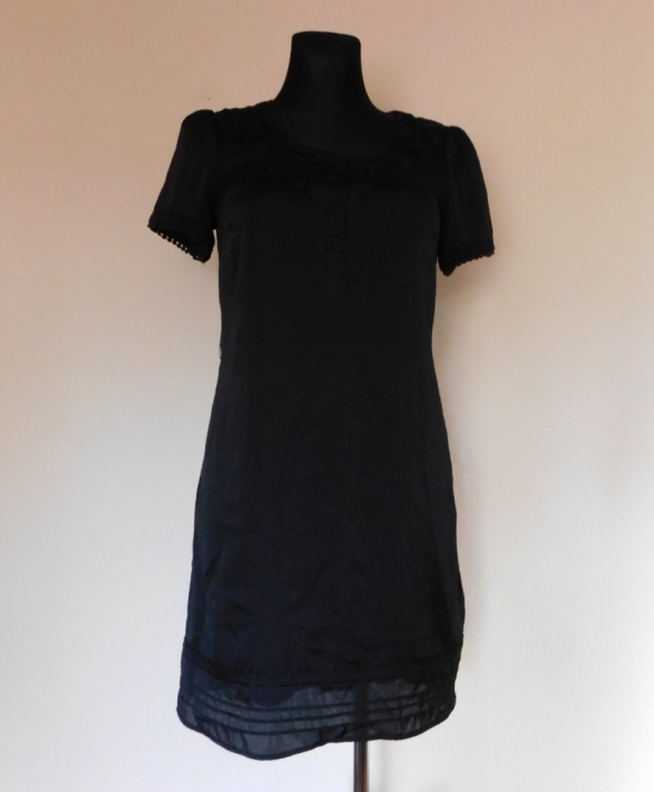 Monsoon czarna sukienka 36 38...