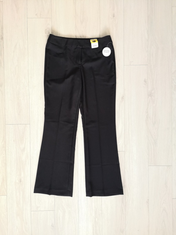 Nowe eleganckie spodnie klasyczne garniturowe M L...