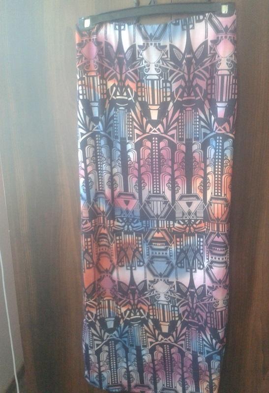 Spódnice long spódnica azeteckie wzory