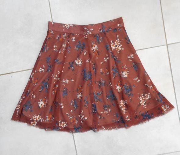 Topshop mini spódniczka kwiaty floral zwiewna...