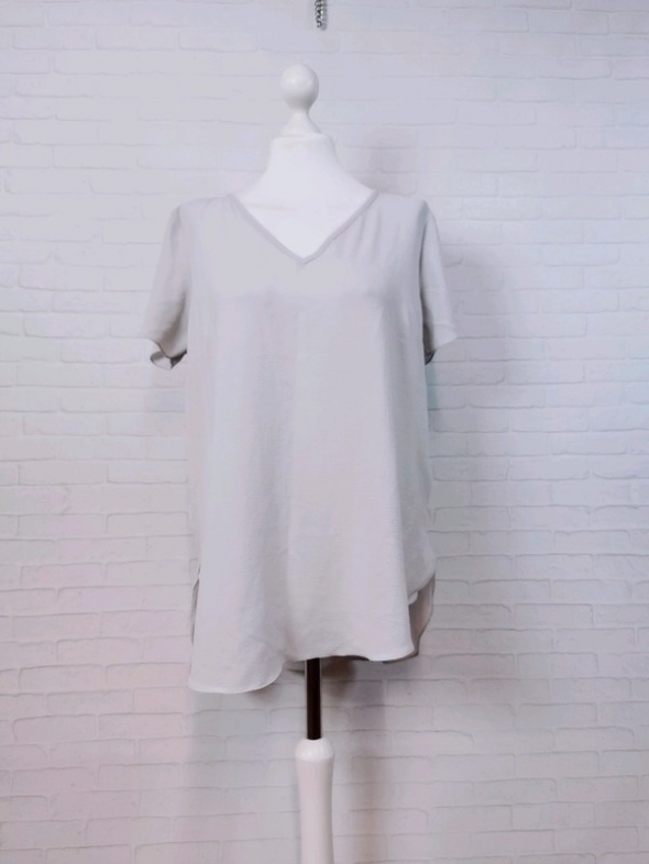 14 42 XL New Look Plus Size Szara brudny turkus bluzeczka...