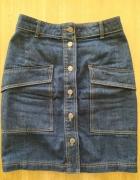 Spódnica jeansowa na guziki...