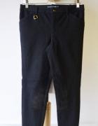 Spodnie Granatowe Ralph Lauren S 36 Bryczesy Jazda Konna...