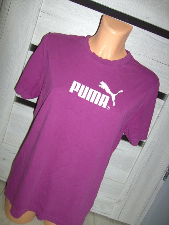 fioletoowy fuksjowy tshirt puma L XL...