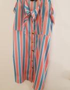 PRIMARK S 36 kolorowa letnia sukienka...