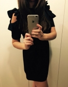 Czarna nowa sukienka...