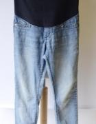 Spodnie H&M Mama Super Skinny L 40 Dzinsowe Jeansowe Rurki...