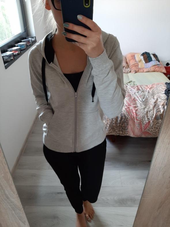Dres komplet dresowy spodnie plus bluza z kapturem XS S