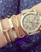 zegarek z bransoletka nowy zestaw