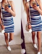 Sukienka Damska w paski H&M rozmiar M...