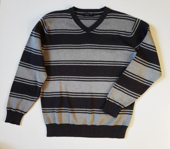 MURREY Bawełniany sweter męski L...