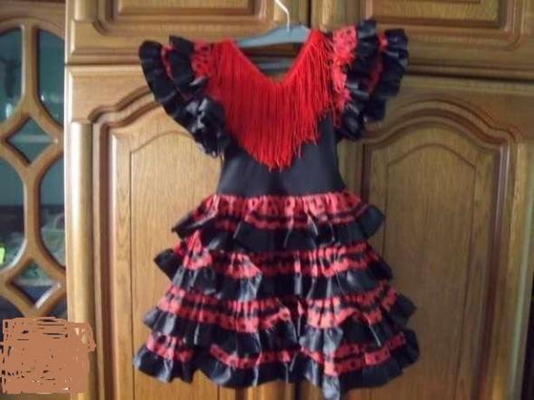 Sukienka Hiszpanka frendzle