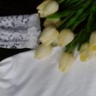 Kombinezon biały koronkowy