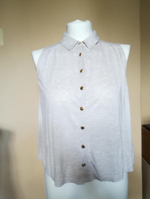 Beżowa bluzka New Look...