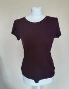 Bordowa koszulka H&M...