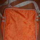 Używana pomarańczowa TORBA na RAMIE listonoszka
