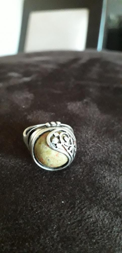 Stary pierścionek Warmet Resovia szarotka koszyczek