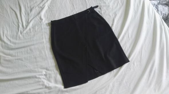 spódnica midi asymetryczna rozcięcie klamra reserved 38 M...