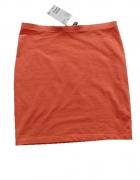 H&M spódnica damska pomarańczowa...