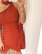 Ruda sukienka Nowa...