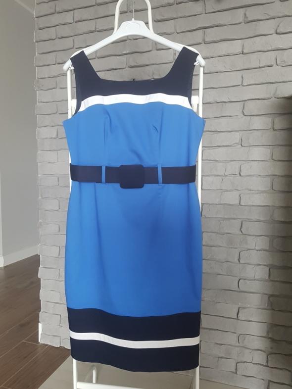 Marks & Spencer Piękna sukienka z paseczkiem