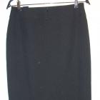 Elegancka długa czarna wąska spódnica