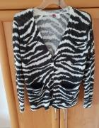 Sweter zebra H&M...