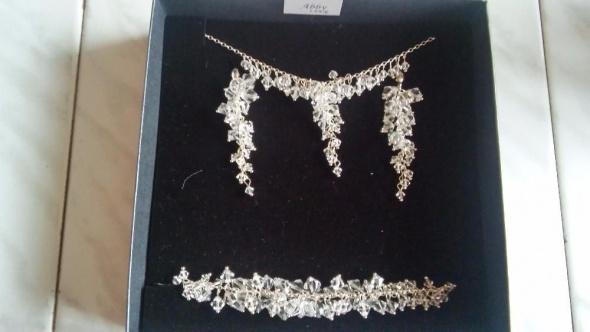 Komplety Biżuteria ślubna ABBY SWAROVSKI