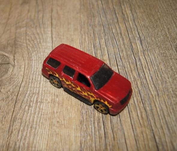 Autka samochody resoraki Hot Wheels zestaw czerwony żółty...