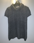 sweter tunika z krótkim rękawem Yessica C&A L