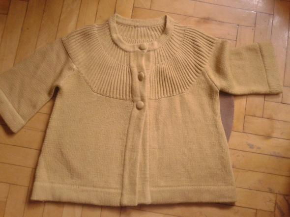 Swetry Miodowy sweter grzybek XL