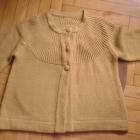Miodowy sweter grzybek XL