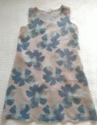 Lniana sukienka 4244 Stella Martini...