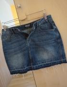 jeansowa spódniczka mini...