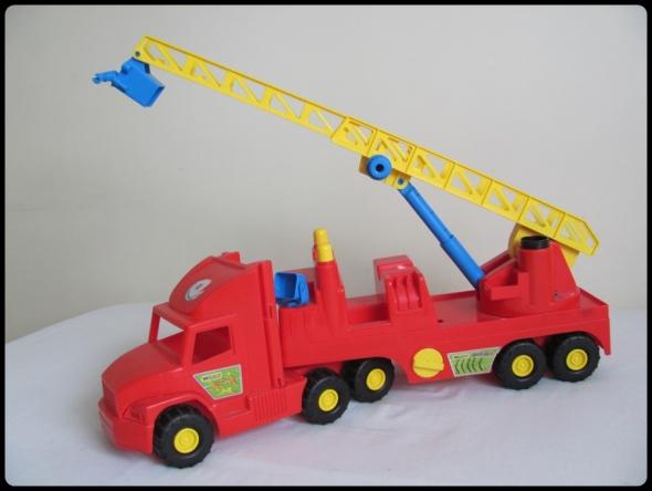 Super Truck Straż Pożarna WADER 78 cm gigant